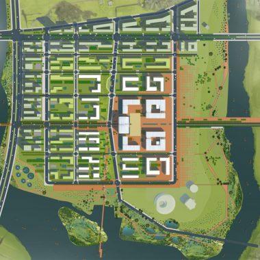 Thiết kế quy hoạch trung tâm hành chính Khánh Hòa