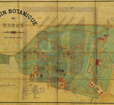 Bản vẽ tay về quy hoạch phố Hà Nội từ thời Pháp thuộc