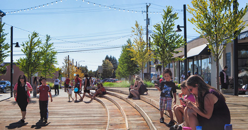 Dự án tái tạo phố McBurney, tạo ra một nơi vui chơi an toàn