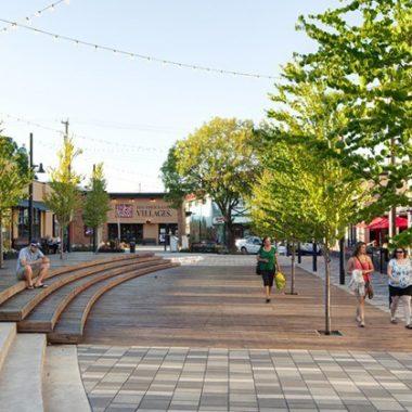 Dự án tái tạo phố McBurney, tạo một khu vui chơi an toàn cho người dân