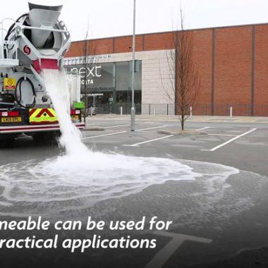 Vật liệu bê tông thấm nước mới trong xây dựng