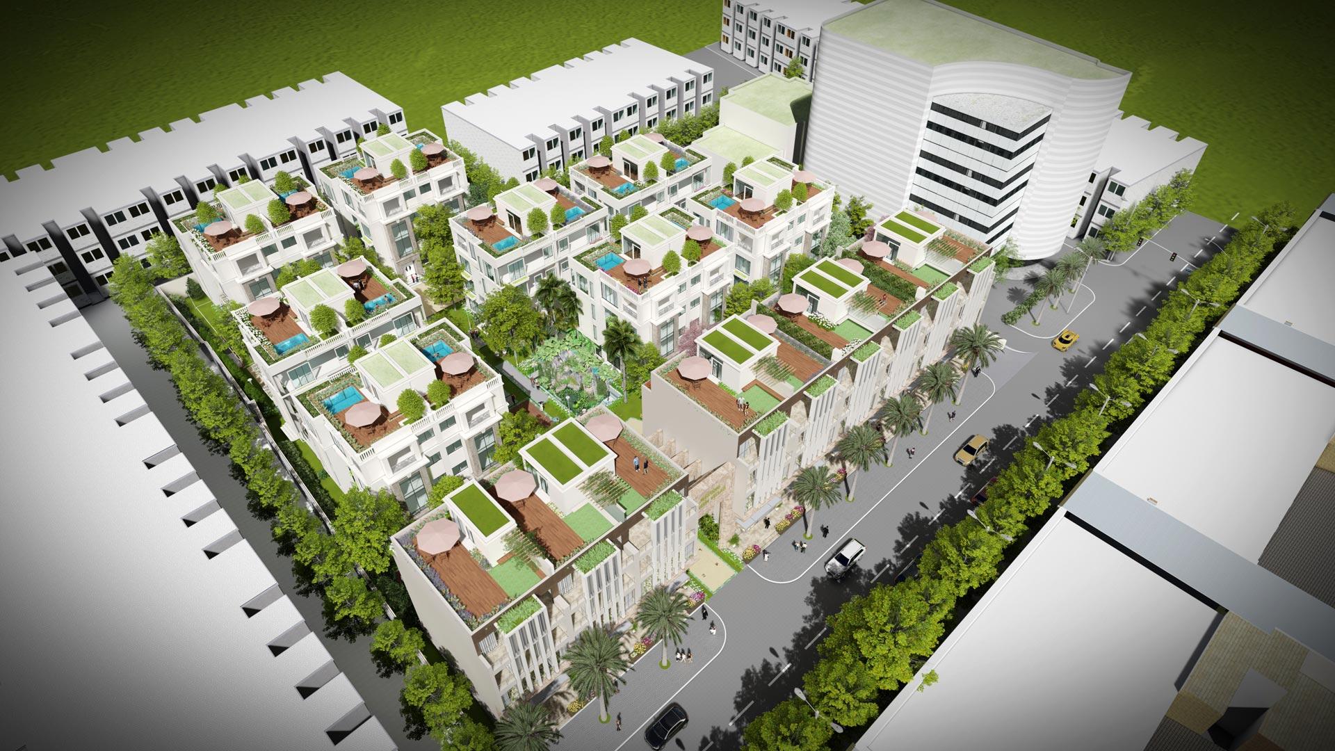 Eden Landscape thiết kế cảnh quan La Casa Villas 6