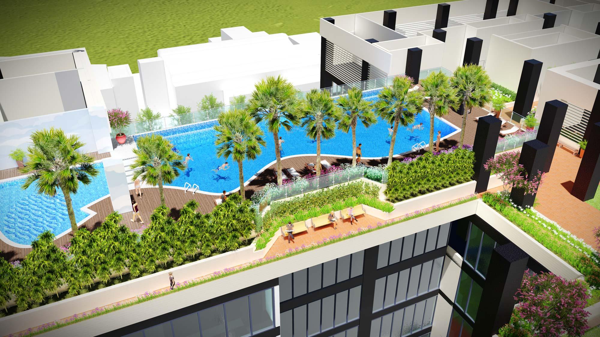 Ede Landscape thiết kế cảnh quan Mandarin Garden 2 6