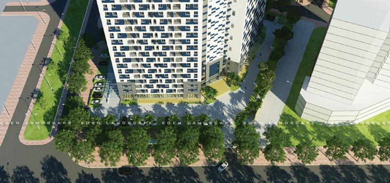 Vẽ concept cảnh quan dự án Ct3 Linh Đàm- 3