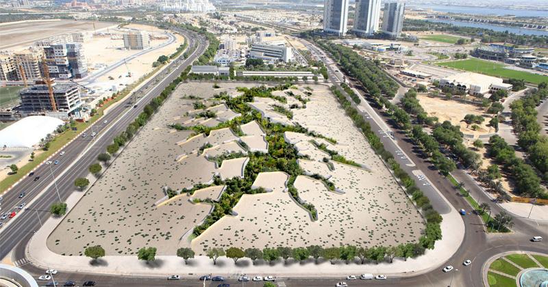 Thiết kế công viên ngầm dưới lòng sa mạc