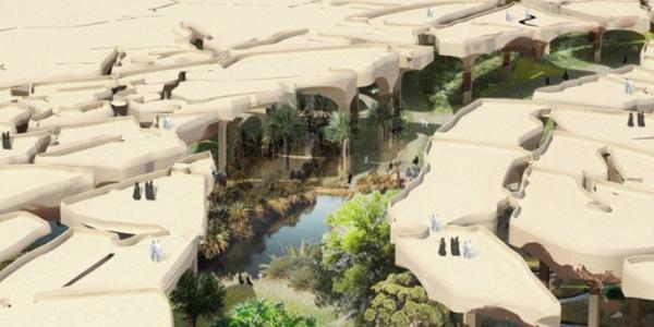 Công viên dưới lòng sa mạc