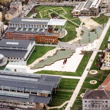 Thiết kế cảnh quan công viên Millenary