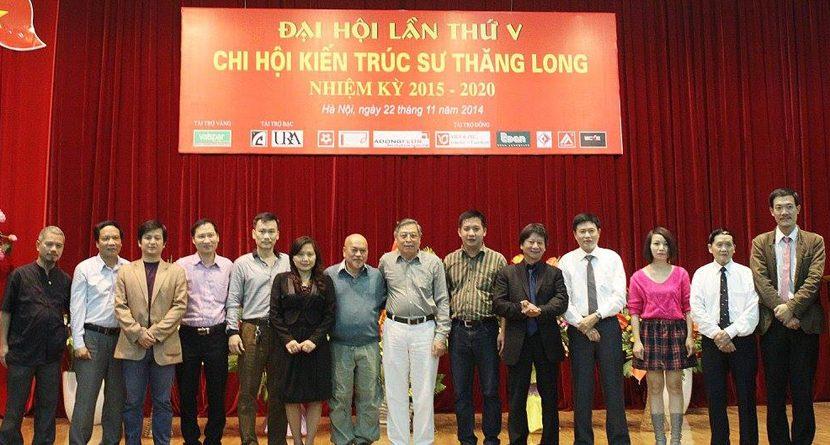 Đại hội lần thứ V Chi hội kiến trúc sư Thăng Long