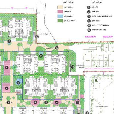 Hoàn thành concept Khu hỗn hợp nhà ở thấp tầng và nhà trẻ
