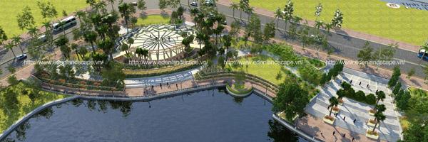 Eden Landscape thiết kế cảnh quan dự án tại thành phố Việt Trì