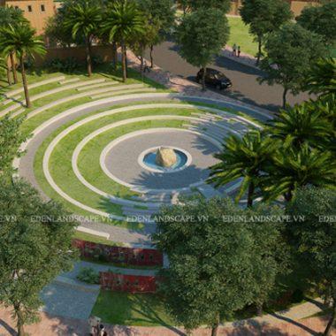 Thiết kế cảnh quan của Eden sẽ mang đến chiếc áo xanh hoàn hảo cho khu đô thi Nam An Khánh