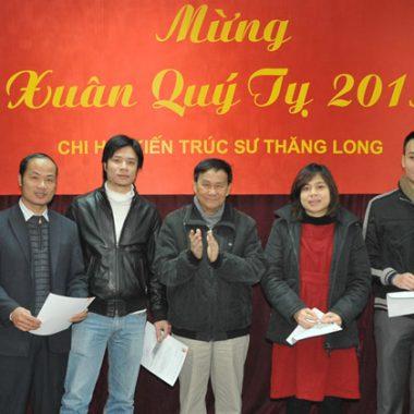 Kỷ niệm 15 năm chi hội KTS Thăng Long