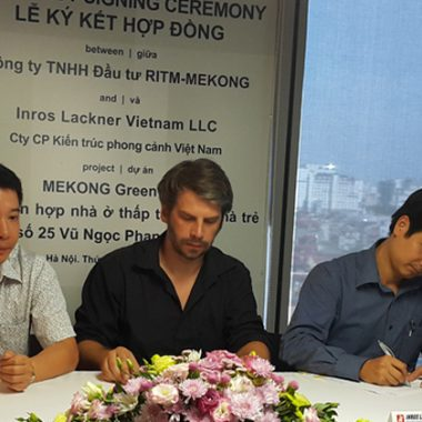 Lễ ký hợp đồng dự án Vũ Ngọc Phan