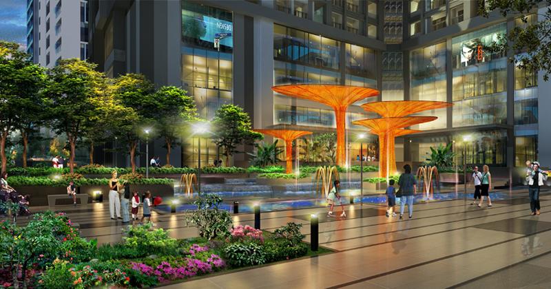 Tổ hợp căn hộ có nhiều quảng trường nhất Việt Nam