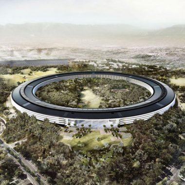 Cảnh quan xanh choáng ngợp Phi thuyền của Apple