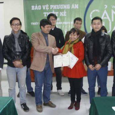 Đại học Xây Dựng đạt giải nhất Workshop Hồ Tây