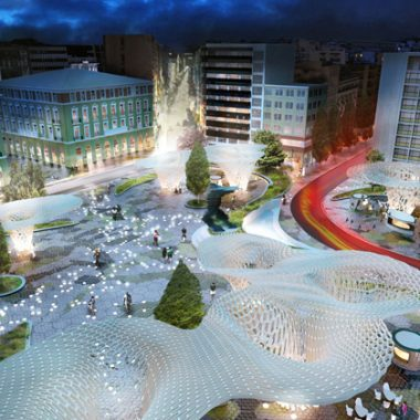 Thiết kế nhằm tạo dựng hình ảnh mới mẻ và đầy sức mạnh cho toàn bộ khu vực thủ đô Athen