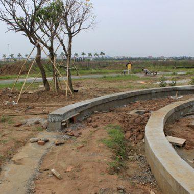 Eden landscape cập nhật hình ảnh thi công dự án CCDV9 những ngày cuối năm 2015