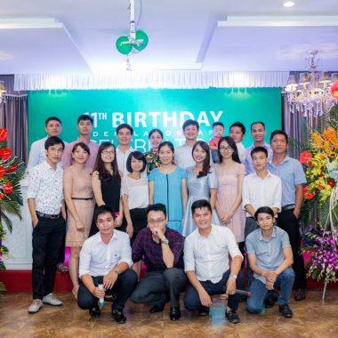 Lễ kỷ niệm 11 năm thành lập công ty