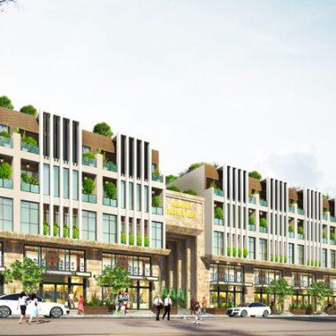 Cảnh quan dự án Lacasa trong lòng nội đô