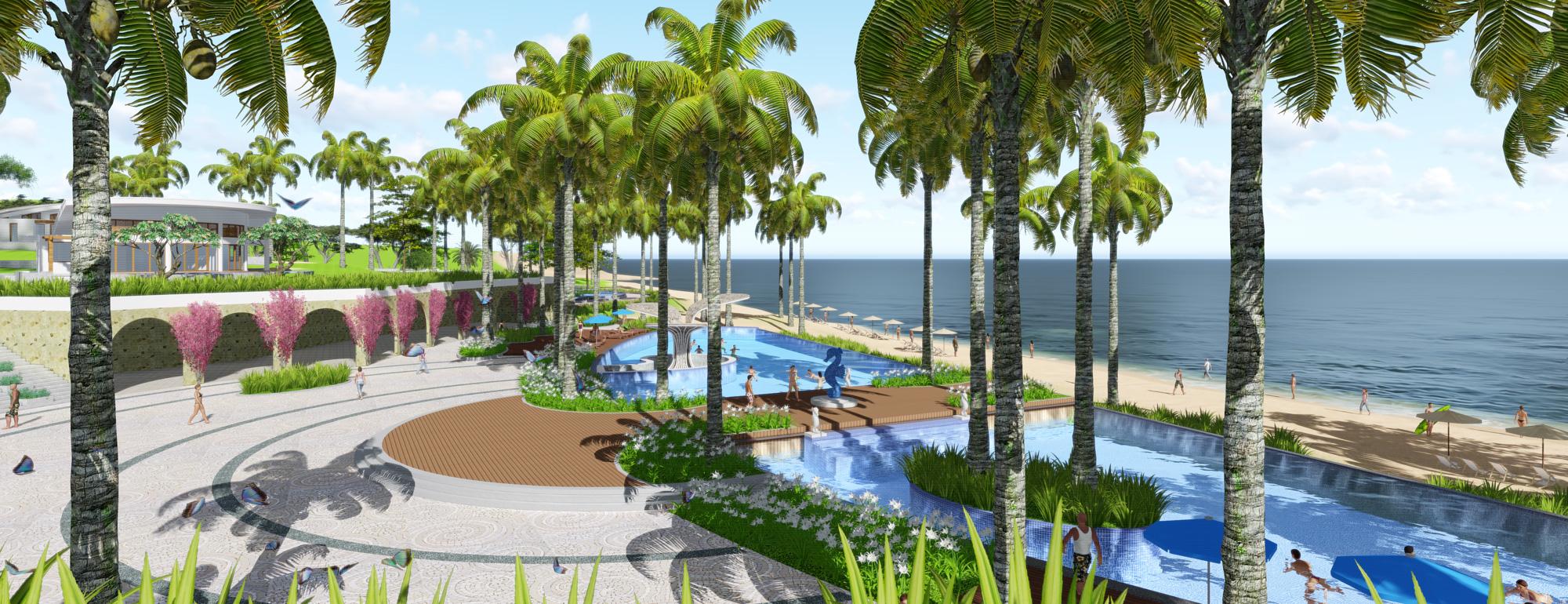 Seahorse landscape design project