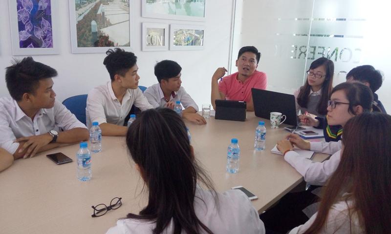 Chia sẻ với sinh viên học viện Nông nghiệp về cảnh quan