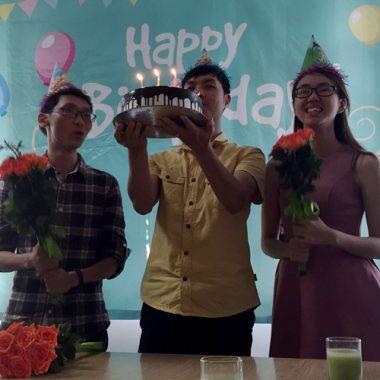 Tổ chức sinh nhật quý II cho CBNV