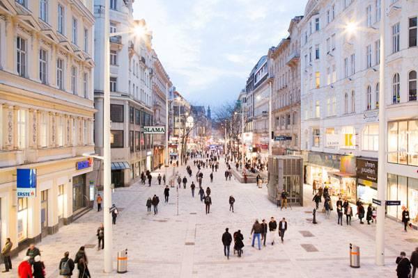 MariahilferStrasse là không gian cho tín đồ mua sắm