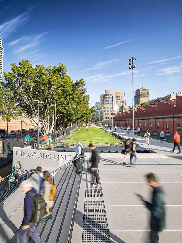 The Goods Line là bằng chứng cho thấy Sydney đã trở thành một thành phố có tính kết nối với thiên nhiên