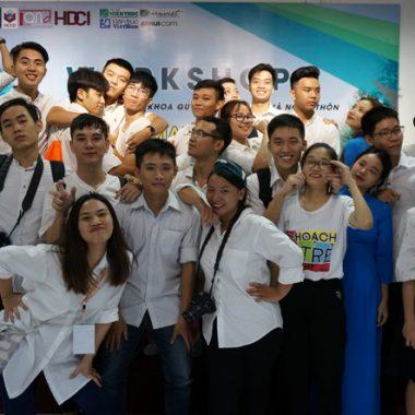 Ngày 3/10/2017 khai mạc workshop với sự tham gia của 43 nhóm đến từ các trường đại học