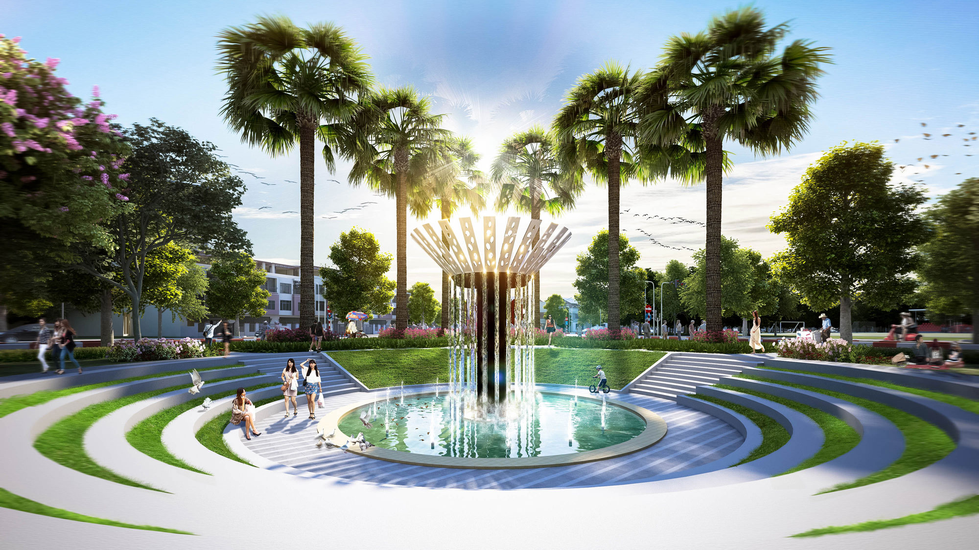 Tara Residence Park project contributed to the architectural space of Tara Residence