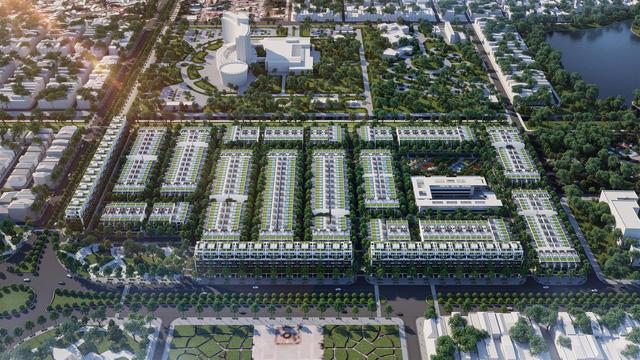 Eden Landscape thiết kế cảnh quan dự án Kim Long City