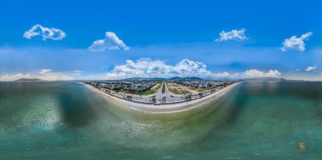 Cảnh quan Kim Long City có một lợi thế biển tuyệt vời
