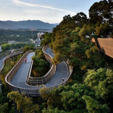 Đường dạo đô thị Jinniushan, Phúc Châu, Trung Quốc