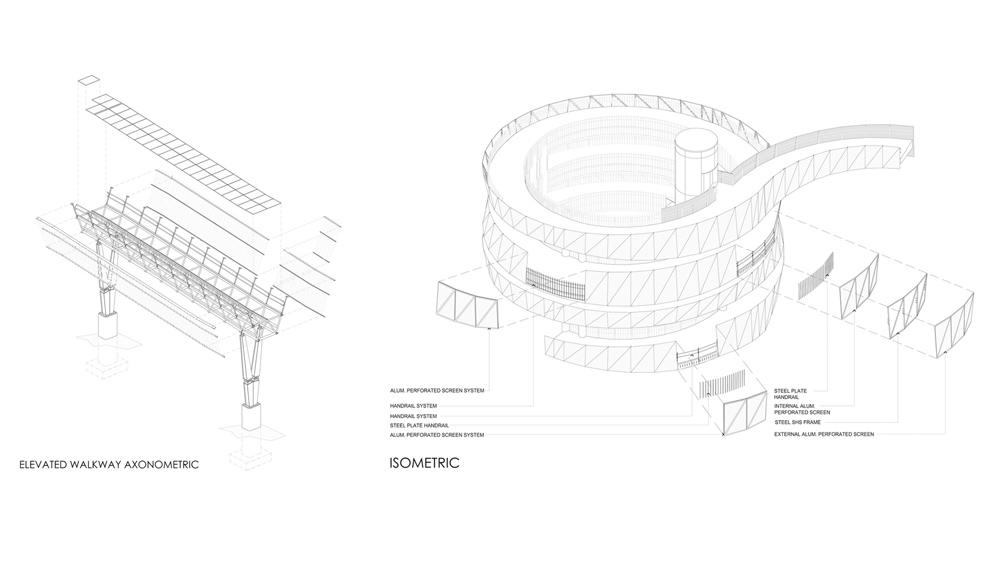 Bản vẽ thiết kế của dự án đường dạo Jinniushan