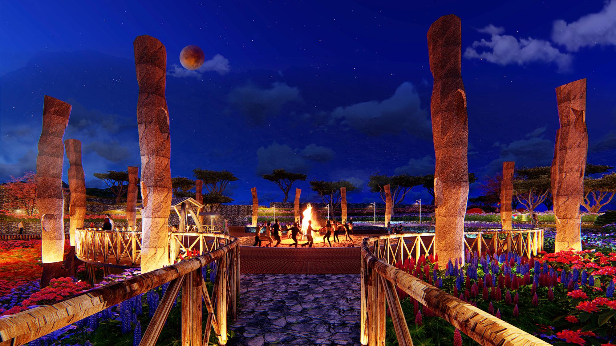 Phối cảnh thiết kế khu du lịch nghỉ dưỡng Sapa Mường Hoa