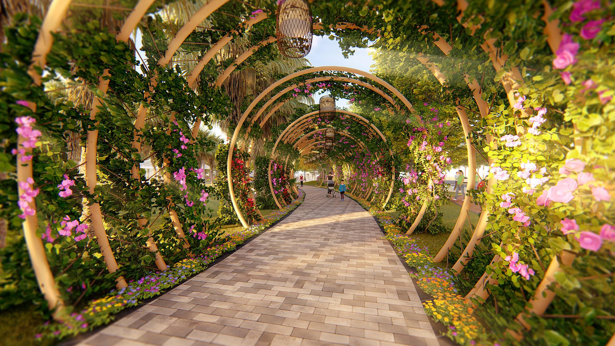 Landscape design ideas Ecorivers Hai Duong's Central Park